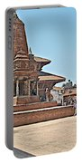 Another Hindu Temple N Bhaktapur Durbar Square In Bhaktapur -nepal Portable Battery Charger