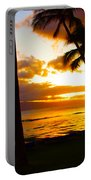 Another Maui Sunset Portable Battery Charger