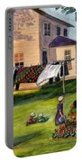 Another Way Of Life II Portable Battery Charger by Marilyn Smith