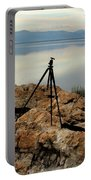 Antelope Island Sunset - 3 Portable Battery Charger