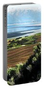 Antelope Island Wasatch Mountains Utah Portable Battery Charger