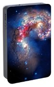 Antennae Galaxies Collide 2 Portable Battery Charger