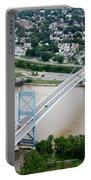 Anthony Wayne Bridge Toledo Ohio Portable Battery Charger