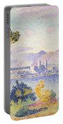 Antibes Afternoon Portable Battery Charger by Henri Edmond Cross