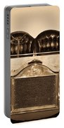 Antique Auto In Sepia Portable Battery Charger