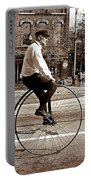 Antique Bicycle Portable Battery Charger