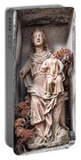 Antique Blessed Virgin Statue Portable Battery Charger