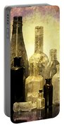 Antique Bottles From The Past Portable Battery Charger