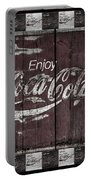 Antique Coca Cola Signs Portable Battery Charger