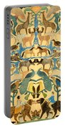 Antique Cutout Of Animals  Portable Battery Charger