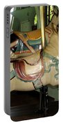 Antique Dentzel Menagerie Carousel Pigs Portable Battery Charger by Rose Santuci-Sofranko
