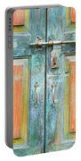Antique Doors Portable Battery Charger