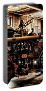 Antique Fire Engine Portable Battery Charger