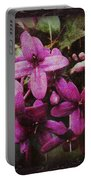 Antique Floral  Portable Battery Charger