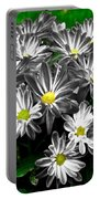 Antique Flowers Portable Battery Charger