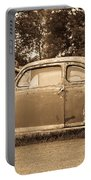 Antique Ford Car Sepia 1 Portable Battery Charger