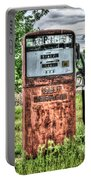 Antique Gas Pump 1 Portable Battery Charger