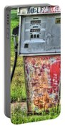 Antique Gas Pump 3 Portable Battery Charger