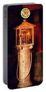 Antique Gasoline Pump Portable Battery Charger