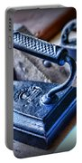 Antique Iron Portable Battery Charger