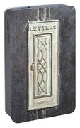 Antique Letter Pox Portable Battery Charger