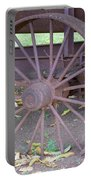 Antique Metal Wheel Portable Battery Charger