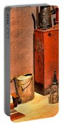 Antique Oil Bottles Portable Battery Charger