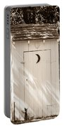 Antique Outhouse Portable Battery Charger