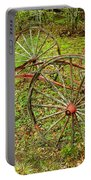 Antique Wagon Frame Portable Battery Charger
