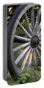 Antique Wagon Wheel  Portable Battery Charger