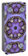 Antique Watch Kaleidoscope Portable Battery Charger
