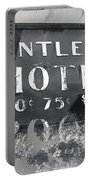 Antler's Hotel Front Door Ghost Town Victor Colorado 1971 1971-2013 Portable Battery Charger