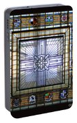 Anzac Day 2014 Auckland War Memorial Museum Stained Glass Roof Portable Battery Charger