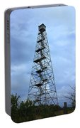 Apalachee Fire Tower In Morgan County Portable Battery Charger
