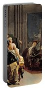 Apelles Painting The Portrait Of Campaspe Portable Battery Charger