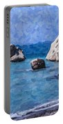 Aphrodites Rock Cyprus Portable Battery Charger
