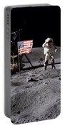 Apollo 16 Lunar Landing Astronaut Young Portable Battery Charger