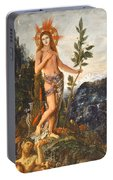 Apollo Receiving The Shepherds Offerings Portable Battery Charger
