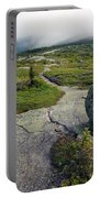 Appalachian Trail Mountain Path Saddleback Maine Portable Battery Charger