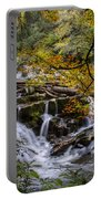 Appalachian Mountain Waterfall Portable Battery Charger