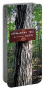 Appalachian Trail Sign North Portable Battery Charger