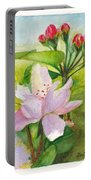 Apple Blossom And Buds Portable Battery Charger