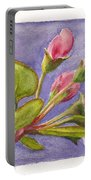 Apple Blossom Buds Portable Battery Charger