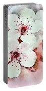 Apple Blossoms Pink - Digital Paint Portable Battery Charger