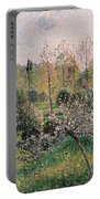 Apple Trees In Blossom Portable Battery Charger