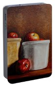 Apples And Jars Portable Battery Charger