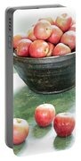 Apples On The Table  Portable Battery Charger