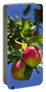 Apples On Tree Portable Battery Charger
