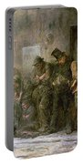 Applicants For Admission To A Casual Portable Battery Charger by Sir Samuel Luke Fildes