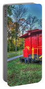 Appomattox Caboose At Sun Rise Portable Battery Charger